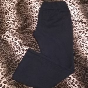 7th Avenue Design Studio black stretchy pants